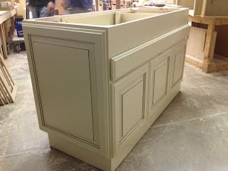 Custom Island Kitchen Cabinet