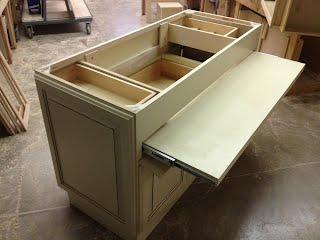 Custom Island Kitchen Cabinet