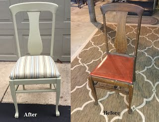 Chairs Refinished